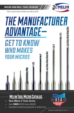 Melin Tool Micro End Mill Catalog