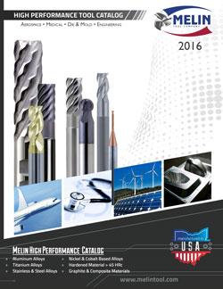 Melin Tool High Performance Tool 2016 Catalog