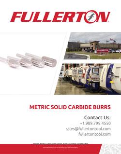 Fullerton Metric-Burr Catalog
