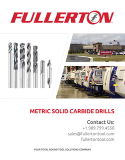 Fullerton Metric Drill Catalog